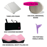 Bombshell Booty Pillow A10 with inflatable Backrest recovery kit - bbl-pillow, BBL PILLOW - recovery pillow, BOMBSHELL BOOTY PILLOW, the official bbl pillow corp, BOMBSHELL BOOTY PILLOW - bombshell booty pillow