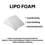 Lipo Foam -  3 Per Pack - bbl-pillow, BBL PILLOW - recovery pillow, BOMBSHELL BOOTY PILLOW, the official bbl pillow corp, BOMBSHELL BOOTY PILLOW - bombshell booty pillow