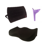 Bombshell Booty Pillow - Butt Lift Recovery & Driving Pillow & INFLATABLE Back Rest Combo - BOMBSHELL BOOTY PILLOW