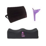 Bombshell Booty Pillow V3 Recovery Pillow & INFLATABLE Back Rest Combo - bbl-pillow,  - recovery pillow, BOMBSHELL BOOTY PILLOW, the official bbl pillow corp, BOMBSHELL BOOTY PILLOW - bombshell booty pillow