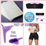 Brazilian Butt Lift Post Op Essentials Kit - bbl-pillow,  - recovery pillow, BOMBSHELL BOOTY PILLOW, the official bbl pillow corp, BOMBSHELL BOOTY PILLOW - bombshell booty pillow