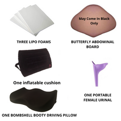 Bombshell Booty Pillow Driving Pillow with inflatable Backrest recovery kit - bbl-pillow,  - recovery pillow, BOMBSHELL BOOTY PILLOW, the official bbl pillow corp, BOMBSHELL BOOTY PILLOW - bombshell booty pillow