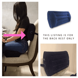 Soft Inflatable Backrest Pillow - Clearance Sale - bbl-pillow, BACKREST PILLOW - recovery pillow, BOMBSHELL BOOTY PILLOW, the official bbl pillow corp, BOMBSHELL BOOTY PILLOW - bombshell booty pillow