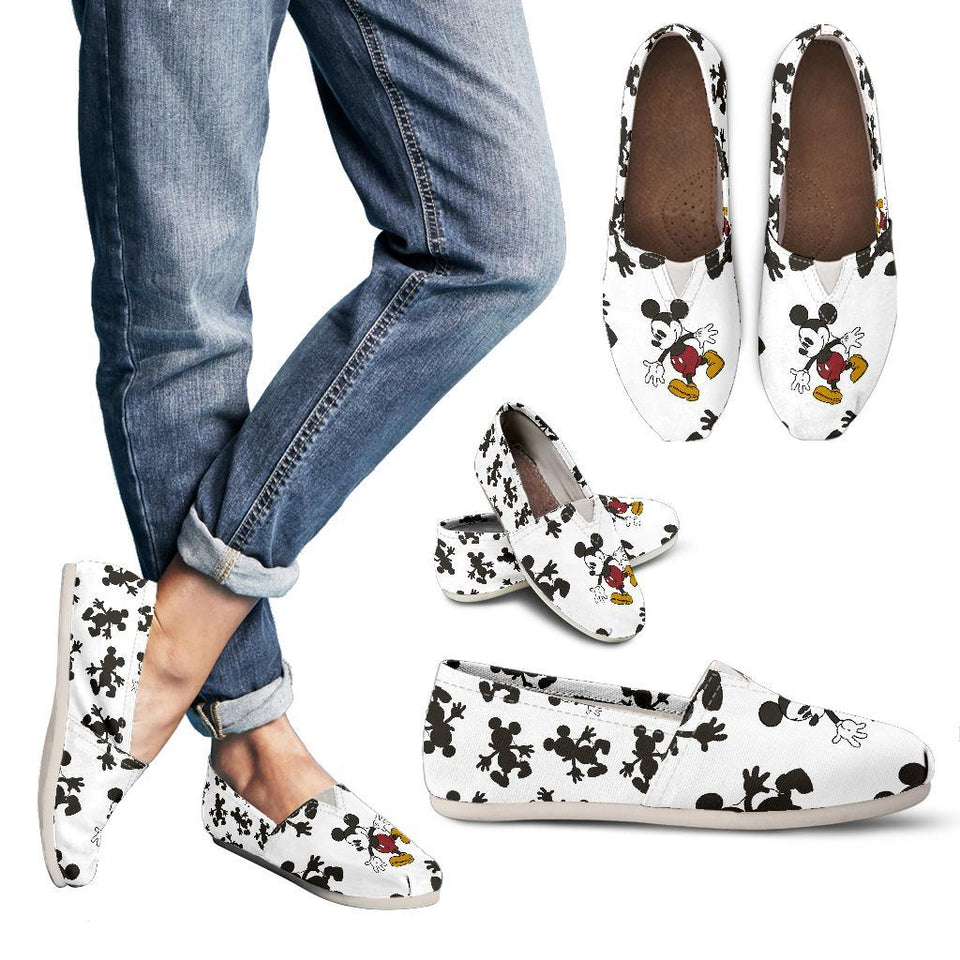 MICKEY SILHOUETTE CASUAL SHOES