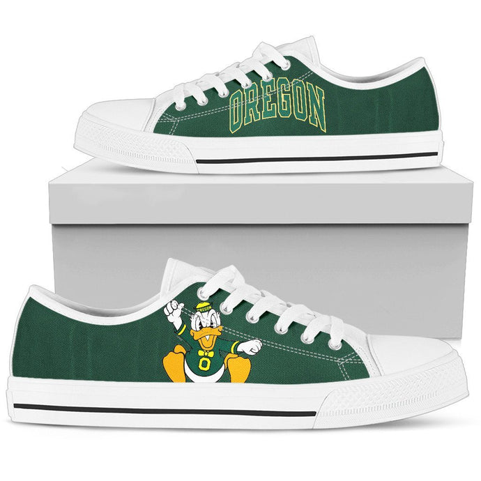 OREGON DUCKS LOWTOPS