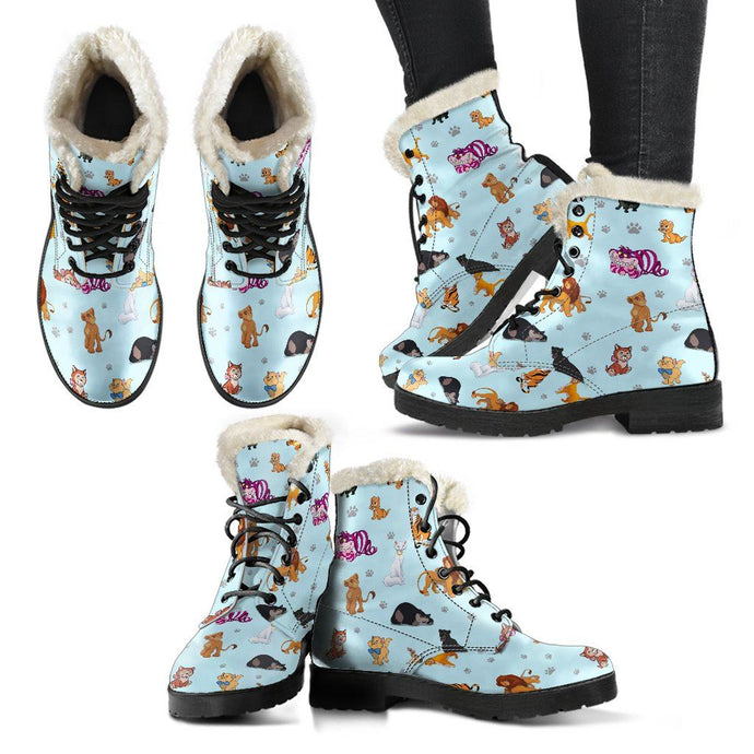 DISNEY CATS LEATHER BOOTS