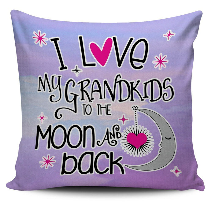 LOVE MY GRANDKIDS PILLOW COVER