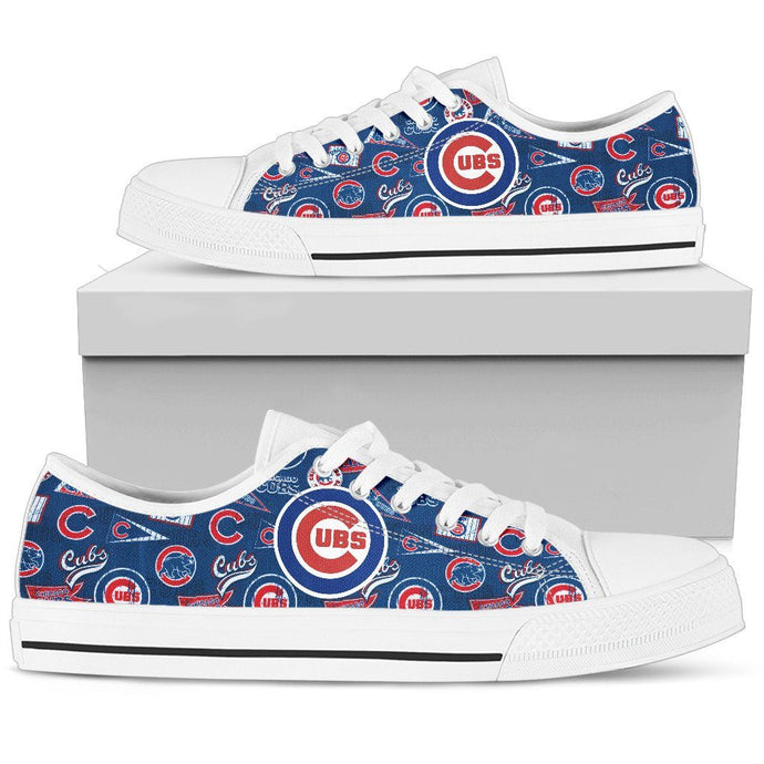 CHICAGO CUBS LOWTOPS