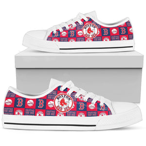 BOSTON RED SOX LOWTOPS