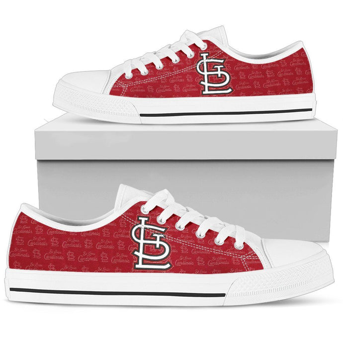 ST. LOUIS CARDINALS LOWTOPS