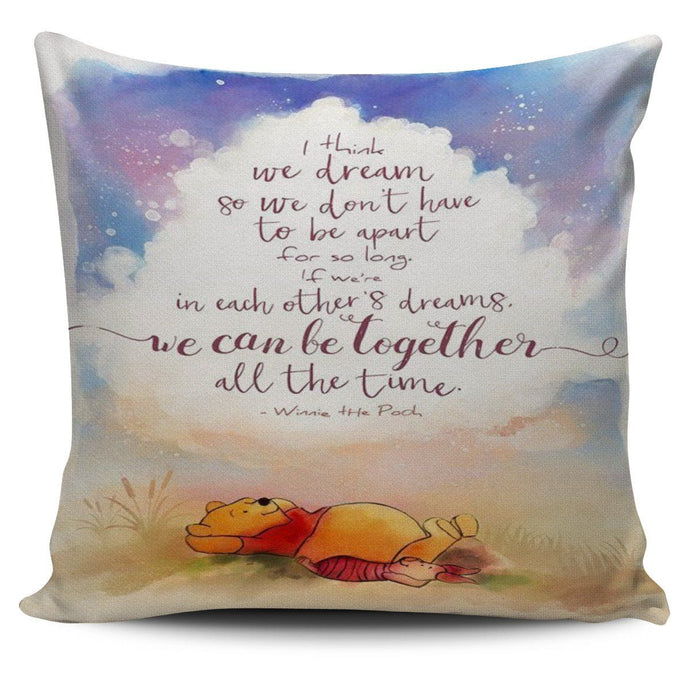 POOH & PIGLET BEST QUOTE PILLOW COVER