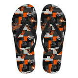BALTIMORE ORIOLES SANDALS