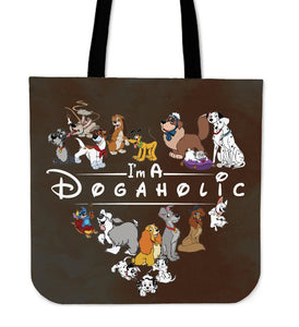 I'M A DOGAHOLIC CLOTH BAG