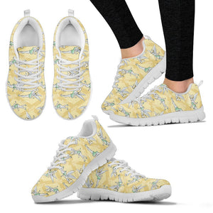 TINKERBELL YELLOW SNEAKERS