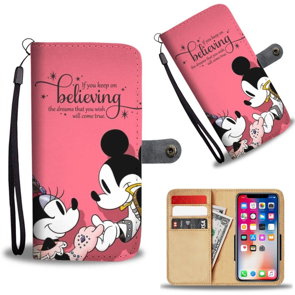 BALLROOM LOVE WALLET PHONE CASE