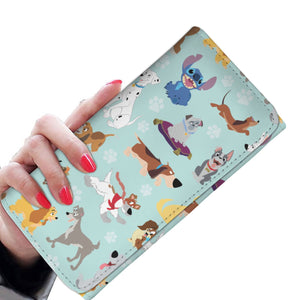 DOGS WOMENS WALLET