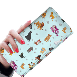 CAT WOMEN'S WALLET