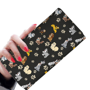 PAWS WOMEN'S WALLET
