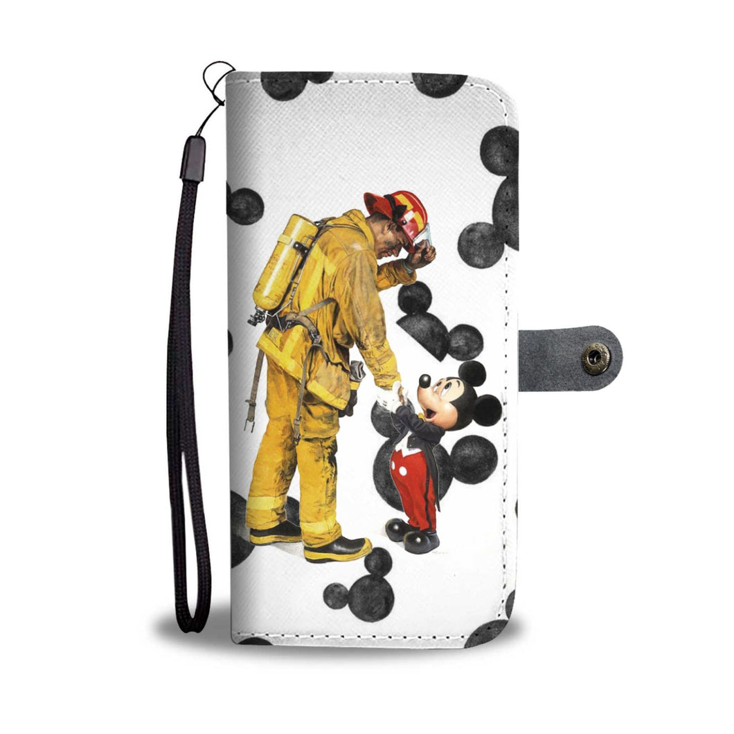 THANK YOU FIREMAN WALLET PHONE CASE