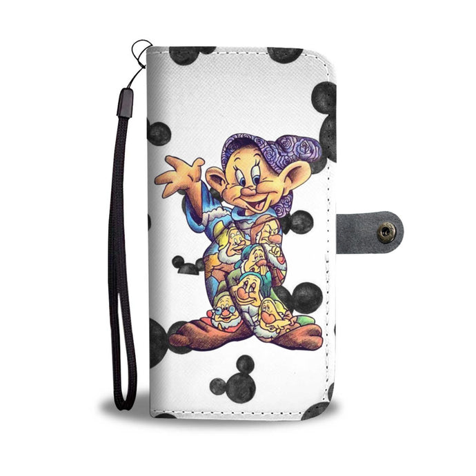 PAINTED DOPEY WALLET PHONE CASE