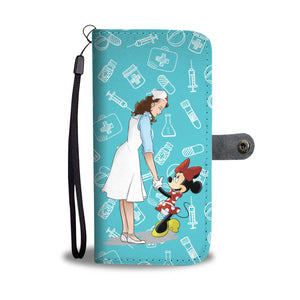 THANK YOU NURSES (BRUNETTE) WALLET PHONE CASE