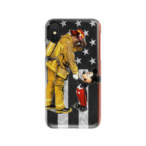 THANK YOU FIREFIGHTERS FLAG PHONE CASE