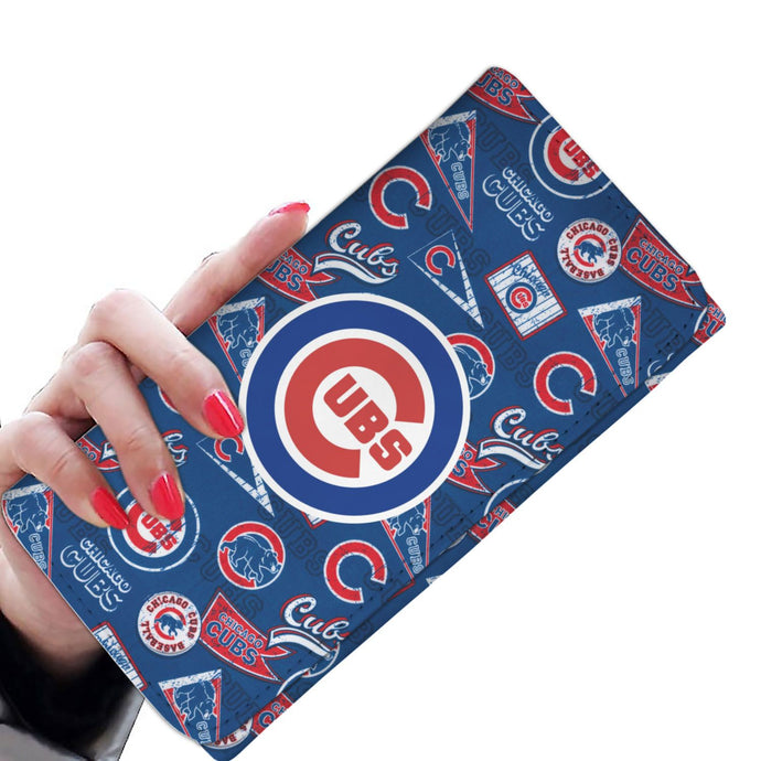CHICAGO CUBS WOMENS WALLET