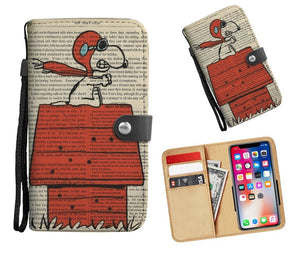 official photos 23b15 053b1 RED BARON SNOOPY WALLET PHONE CASE – Mamma Threads