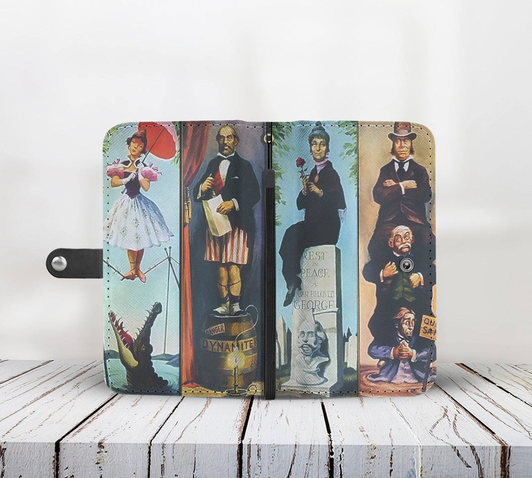 HAUNTED MANSION WALLET PHONE CASE