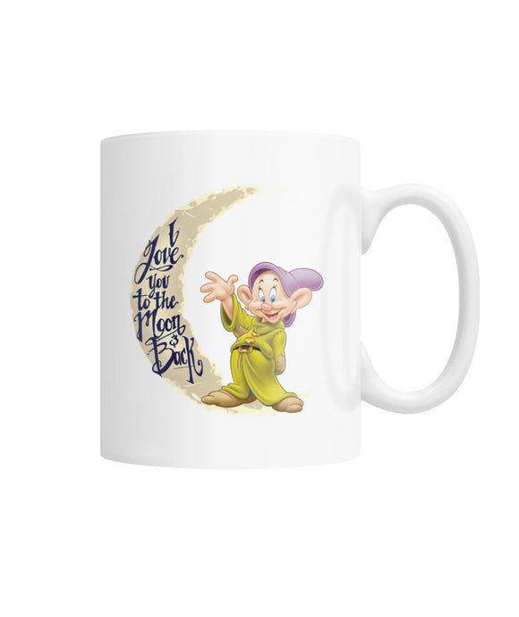 LOVE YOU TO THE MOON DOPEY MUG