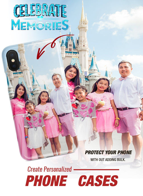 PERSONALIZED DISNEY CELEBRATE MEMORIES SLIM PHONE CASE