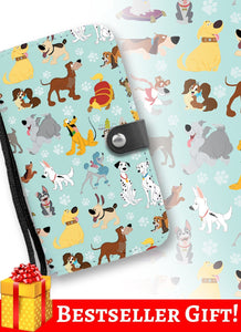 DOGS WALLET PHONE CASE