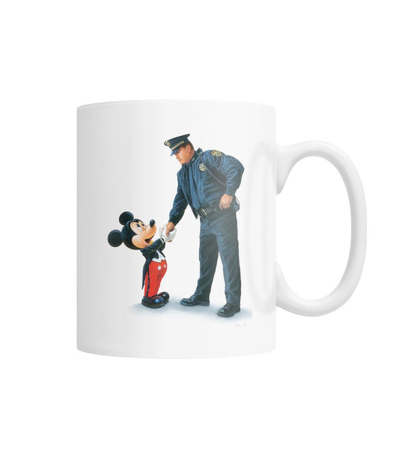 THANK YOU POLICE OFFICERS MUG