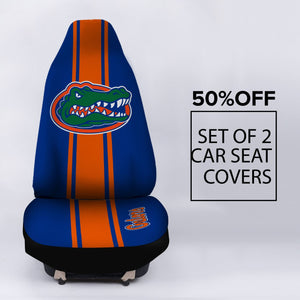 FLORIDA GATORS CAR SEAT COVER (SET OF 2)