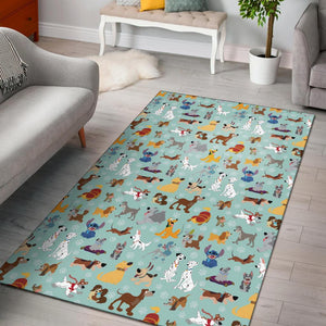 DISNEY DOGS AREA RUGS