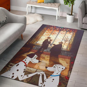 101 DALMATIANS LOVE AREA RUG