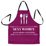 Sexy Woman Are Messy Apron