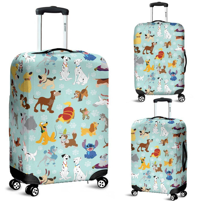DISNEY DOGS LUGGAGE COVER