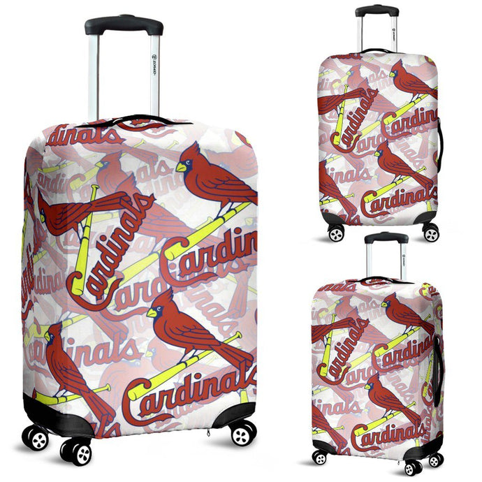 ST LOUIS CARDINALS LUGGAGE COVER
