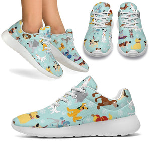DISNEY DOGS SPORT SNEAKERS