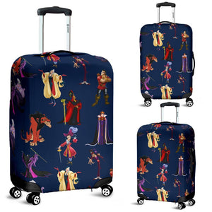 DISNEY VILLAINS LUGGAGE COVER