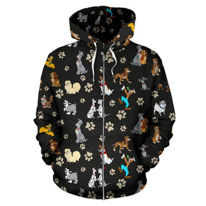 DISNEY PAWS ZIP UP HOODIE