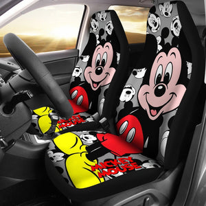 GIANT MICKEY CAR SEAT COVERS (SET OF 2)