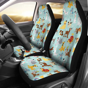 DISNEY DOGS CAR SEAT COVER (SET OF 2)