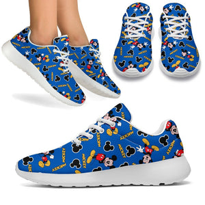 MICKEY BLUE SPORT SNEAKERS