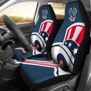 NEW YORK YANKEES CAR SEAT COVER (SET OF 2)