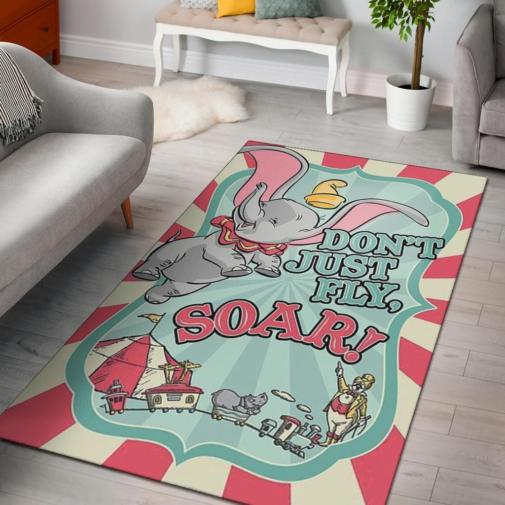 DON'T JUST FLY, SOUR! 'DUMBO' AREA RUG