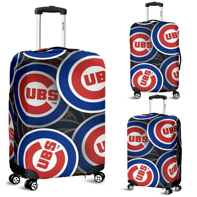 CHICAGO CUBS LUGGAGE COVER