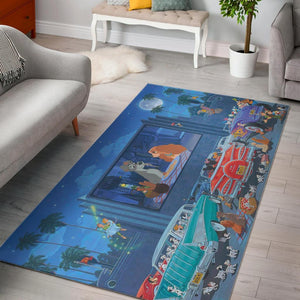 OUTDOOR MICKEY CINEMA AREA RUG
