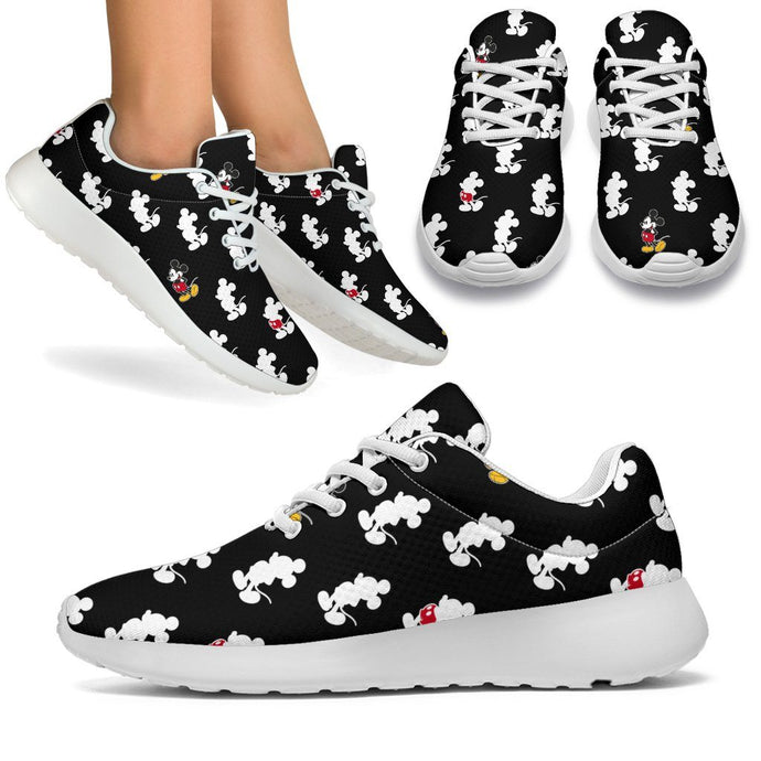 BLACK MICKEY SNEAKERS